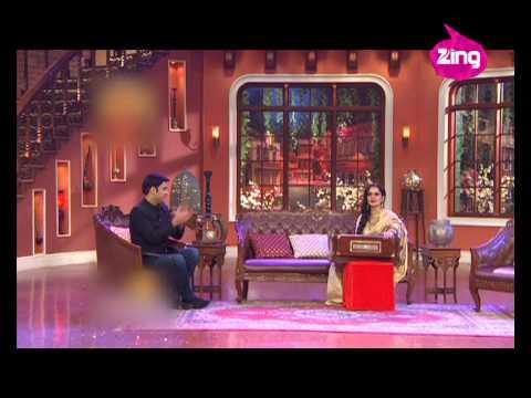 Rekha's entertaining act