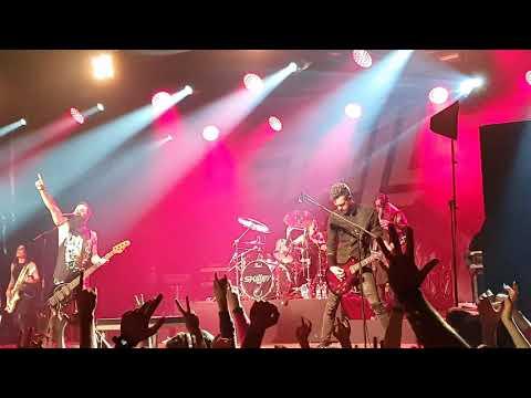 Skillet - Victorious 13/11/2019 Live In Poland, Warsaw, Warszawa, Stodoła
