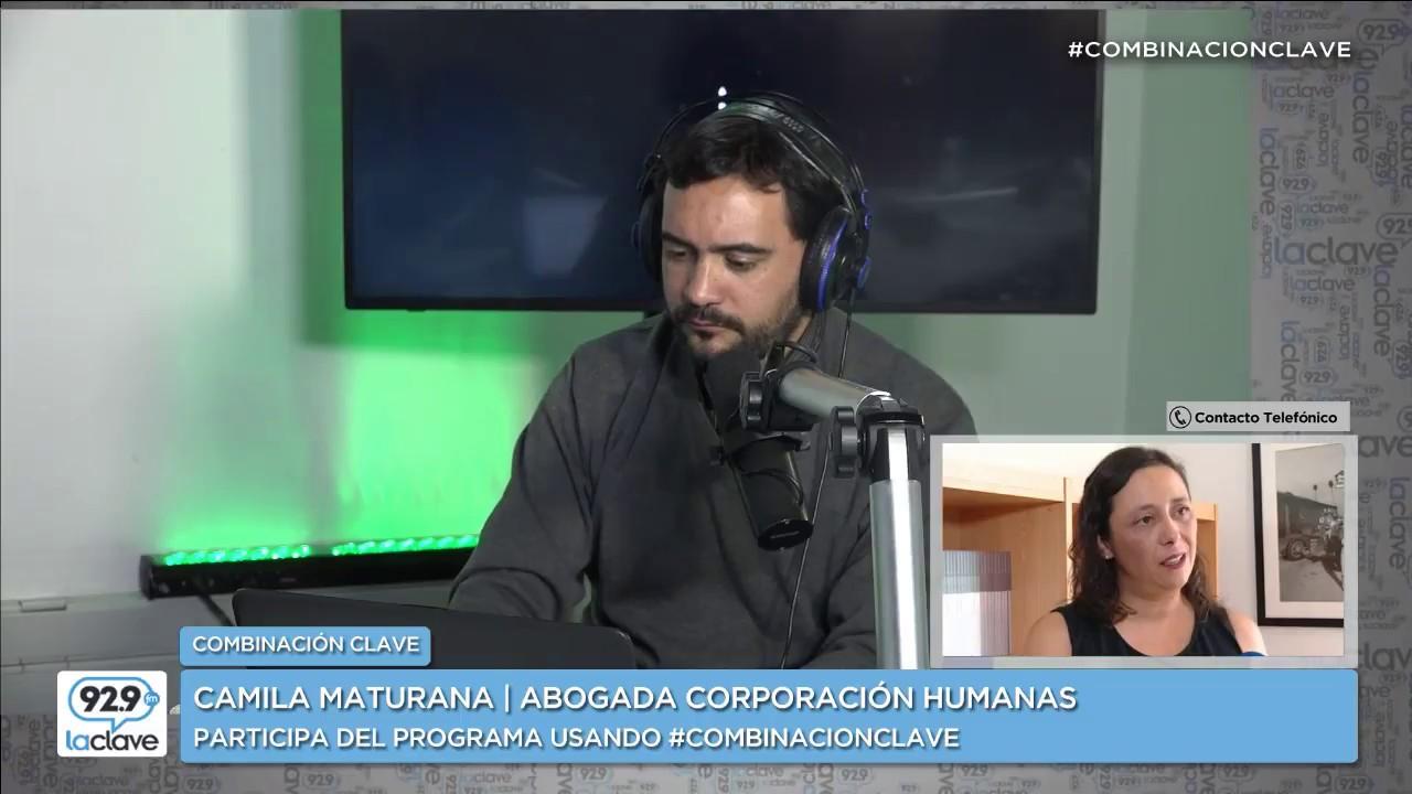 Ver Combinación Clave: Camila Maturana habla de violencia en el pololeo y aborto libre. en Español