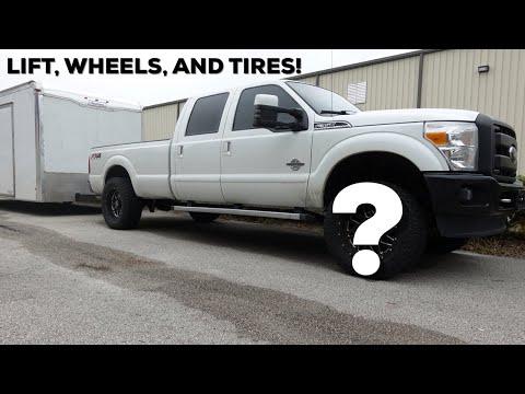2016 Ford F-350 - Lift, Wheels, and Tires! - Supra Big Brake delete...