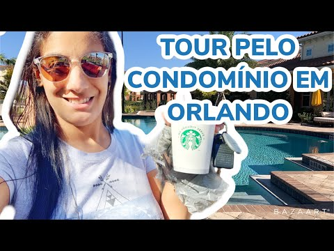 TOUR PELO MEU CONDOMÍNIO EM ORLANDO   Marcelli Rodrigues