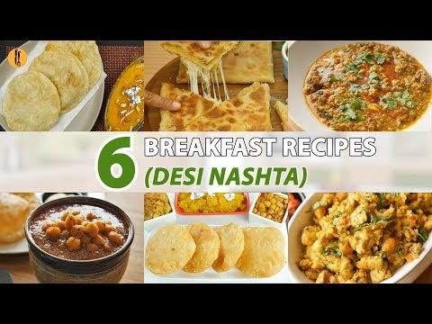 6 Desi Breakfast Recipes By Food Fusion (Ramzan Sehri Recipes)