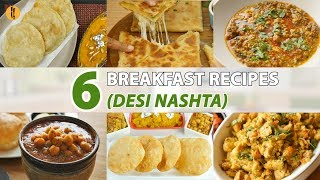 6 Desi Breakfast Recipes By Food Fusion