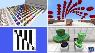 10 Very Satisfying Machines in Minecraft