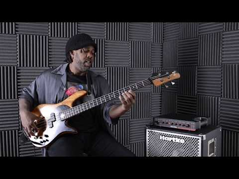 Incredible Victor Wooten solo bass jam