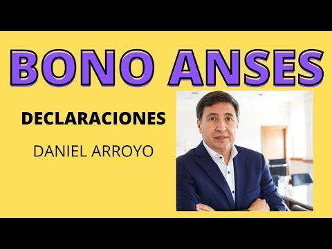 BONO ANSES, DECLARACIONES DE DANIEL ARROYO