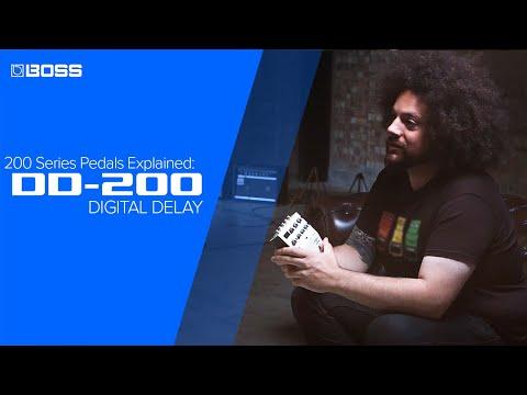 BOSS 200 Series Pedals Explained: DD-200 Digital Delay
