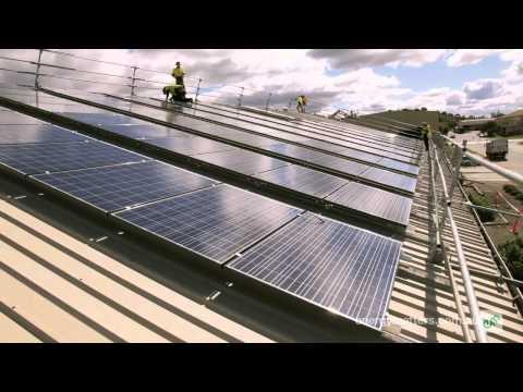 Ullrich Aluminium Solar Power System Installation Timelapse