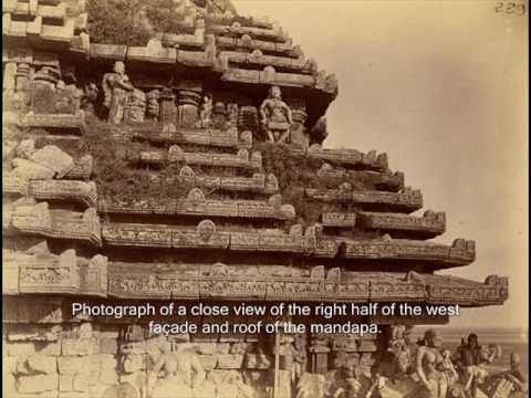 Sun Temple of Konark from Archaeological Survey of India Collections - 1890
