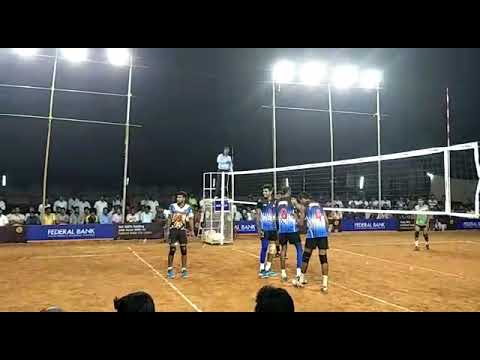 inter college volleyball tournament held at angamaly