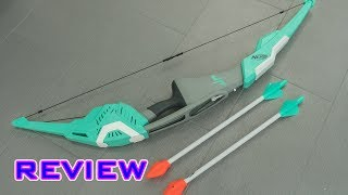 [REVIEW] Nerf Dude Perfect Signature Bow Unboxing, Review, & Firing Demo