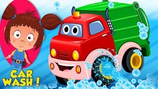 Garbage Truck | Car Wash Videos | Cartoons For Babies by Kids Channel