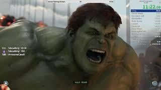 Marvel's Avengers Any% Speedrun WR 4:08:01 (9/16/2020)