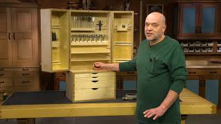 A Drill Bit Storage Cabinet to Keep You Organized