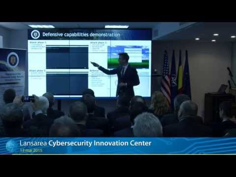 May 13 - Inaugurare Cybersecurity Innovation Center
