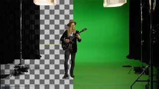 Green Screen and 2.5D Projection on Nuke