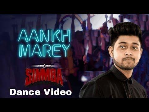 SIMMBA: Aankh Marey | Dance Video | Manish Dutta Choreography | Ranveer Singh, Sara Ali Khan