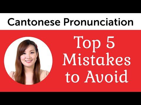 Top 5 Cantonese Pronunciation Mistakes to Avoid