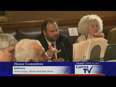 RI State Rep calls gun control advocate on his BS, exposes backwards thinking
