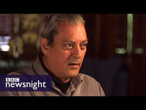 'I am scared out of my wits': Paul Auster on US election - BBC Newsnight