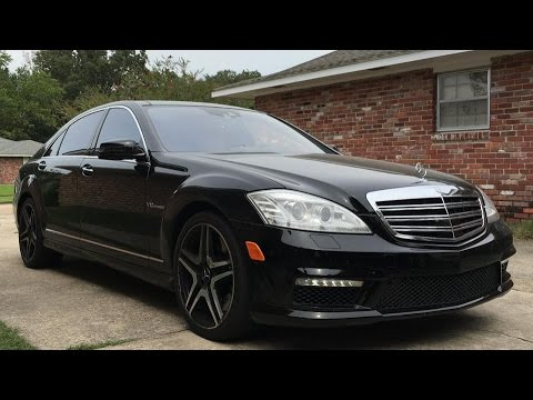 2013 mercedes benz s65 amg v12 biturbo full review start up exhaust led night view youtube. Black Bedroom Furniture Sets. Home Design Ideas