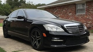 2013 Mercedes-Benz S65 AMG V12 Biturbo Full Review, Start Up, Exhaust, LED Night View
