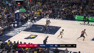 2nd Quarter, One Box Video: Indiana Pacers vs. New Orleans Pelicans