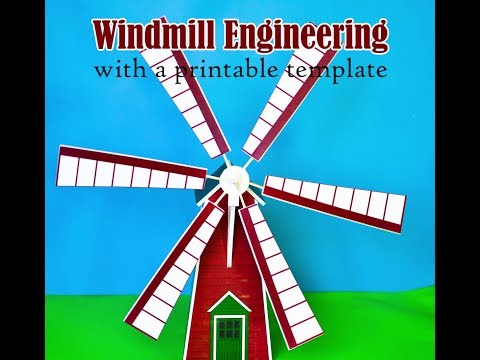 How to Make a Windmill Model for a Science Project