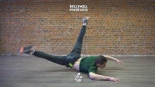 "27. Bellymill (Power move) Артём Платонов | Видео уроки брейк данс от ""Своих Людей"""