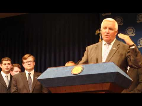 Tom Corbett's Shell Tax Break Press Conference