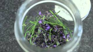 diy: lavender and mint essential oil
