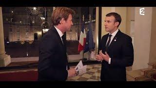 Interviewé à l'Élysée par Laurent Delahousse | Emmanuel Macron