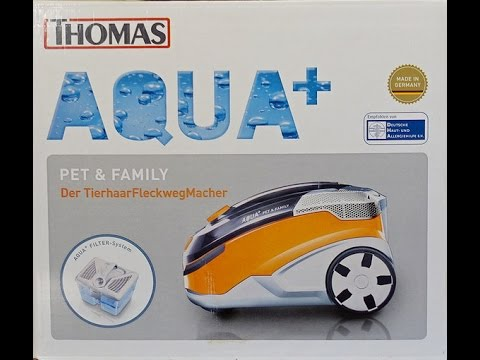 Моющий пылесос Thomas AQUA PET&FAMILY - YouTube