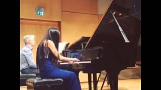 Paul Janes, Sunny (Yun) Li Mendelssohn piano concerto g minor