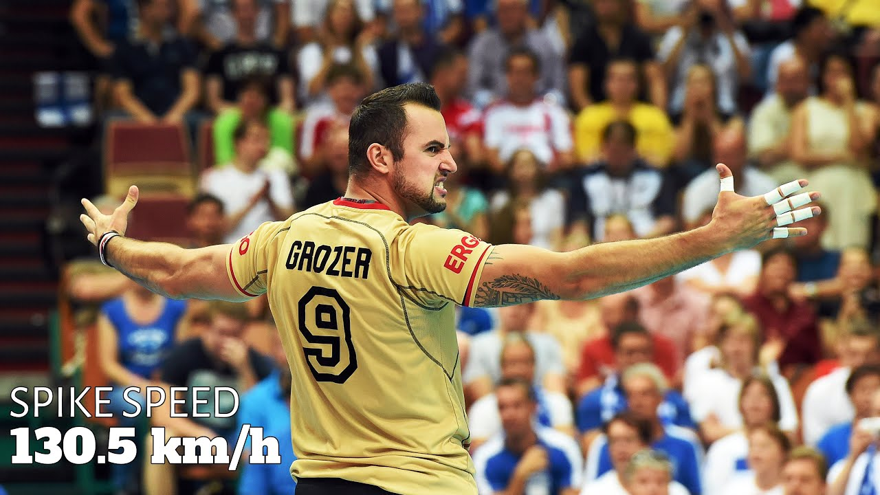 Fastest Spike in Volleyball History | Moment When György Grozer Shocked the World (HD)