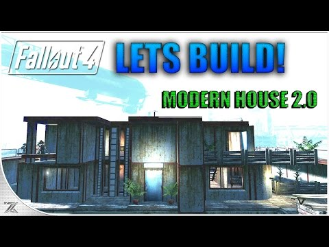 Fallout 4 Wasteland Workshop - Lets Build Nordhagen Beach | Modern House 2.0 | No Mods