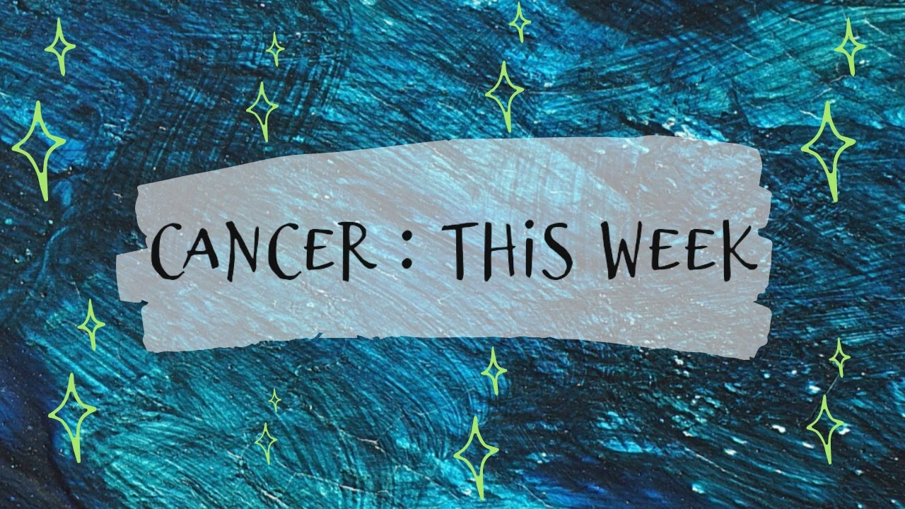 CANCER : ✨A GOOD NEWS IS HEADED YOUR WAY 💌✨  | 21st - 27th Sept 2020 | Weekly Predictions