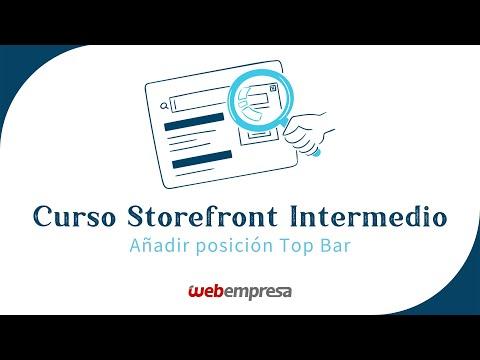 Curso Storefront WordPress (plugins) - Añadir Posición Top ...