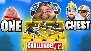 The *ONE CHEST* Challenge! 🤣 (Cold War Warzone)