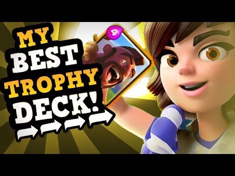 FINALLY! A MAX LEGENDARY :: My Best Princess Deck For Trophies!