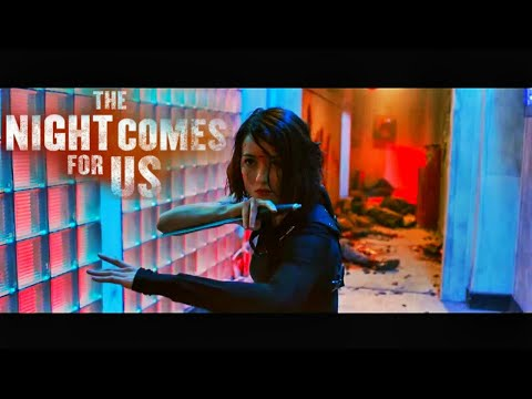 The Night Comes For Us - Julie Estelle (The Operator) vs Two Assassins - Fight Scene (Full HD)