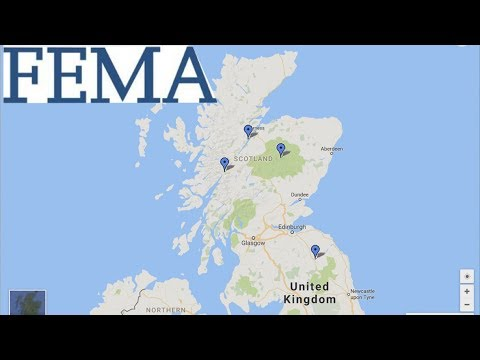 Alex Jones New FEMA Camps Development! United States/Great Britain