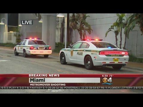 Shooting At Miami Metromover Station
