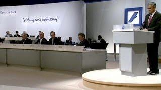 Deutsche Bank : assemblée générale tendue pour la direction de la banque allemande - corporate
