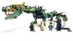 The LEGO Ninjago Movie Set 70612 - Mech-Drache des Grünen Ninja / Unboxing & Review deutsch