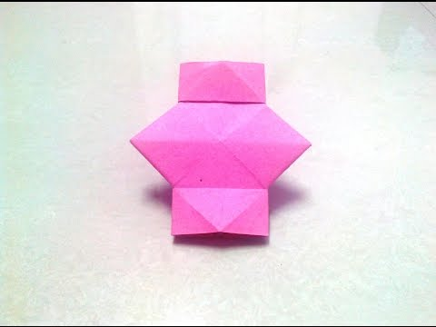 How To Make An Origami Lantern Step By