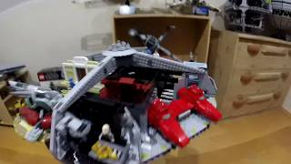 LEGO STAR WARS UCS 75222 BETRAYAL AT CLOUD CITY SPEED BUILD