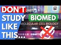 How to study Biomedical Sciences FASTER | Top 10 Biomedical YouTube Channels | Biomed Master