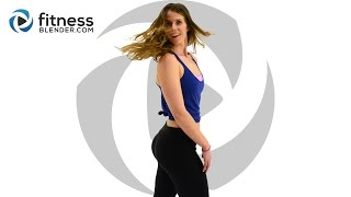 No Equipment Upper Body and Cardio Workout with Warm Up and Cool Down
