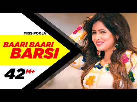 Baari Baari Barsi | Full Video | Miss Pooja | G Guri | Latest Punjabi Song 2017 | Speed Records